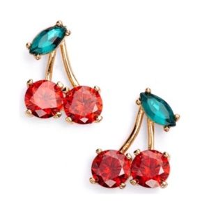 Kate Spade • Ma Cheriè Cherry Earrings